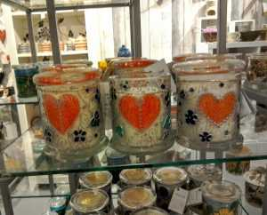 handmade candles, made in Wales